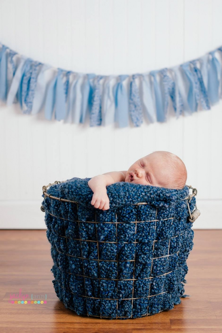 Little Boy Blue garland