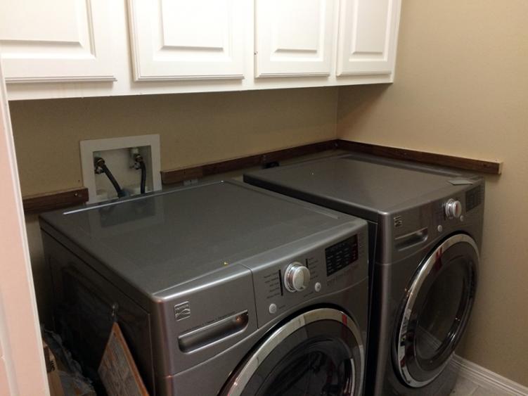 In Progress - Laundry Room