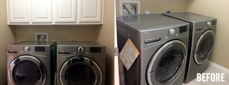 Before - Laundry Room
